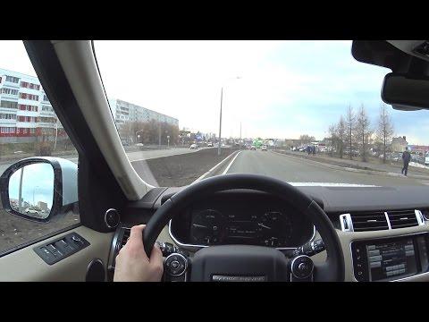 2016 Land Rover Range Rover Sport HSE  POV Test Drive
