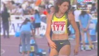 Tatiana Lebedeva GP Athens  2007 Triple Jump 15,14m WL