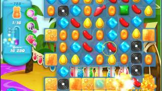 Candy Crush Soda Saga Level 725 ~ no boosters