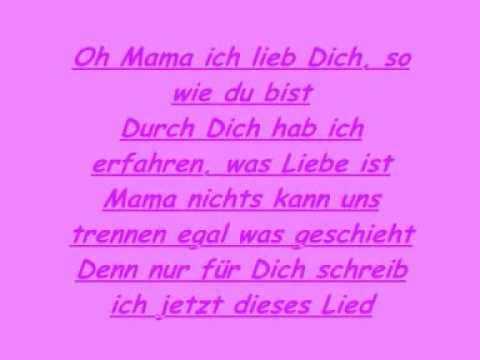 Mama Ich Hab Dich Lieb Text