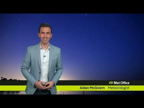 Tuesday evening forecast 06/02/18