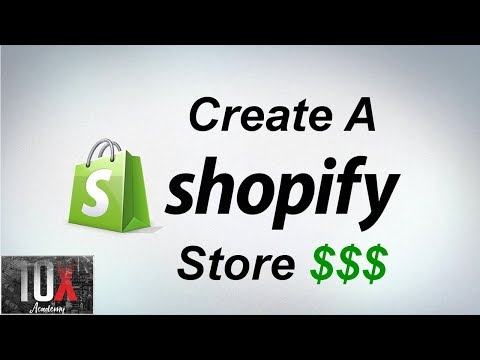 🛍️ Tutorial On How To Create A Shopify Store (2019) thumbnail