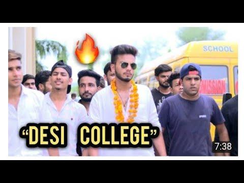 DESI COLLEGE BOYS SWAG||COLLEGE TASHAN 2018