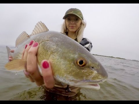 Fishing for GIANT SPECKLED TROUT & RED DRUM in North Carolina