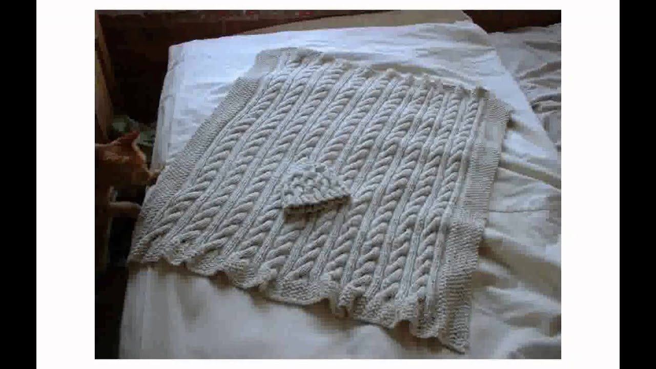 Knit Baby Blanket Patterns - YouTube