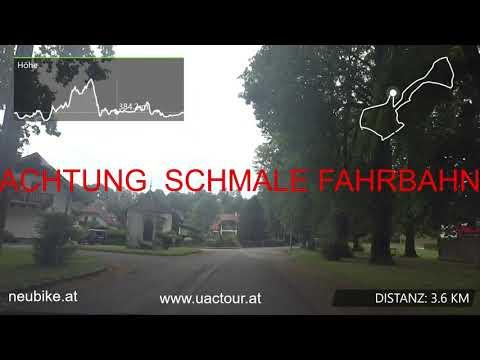 Streckenvideo 2. Etappe UACTour 2020 Schwanenstadt