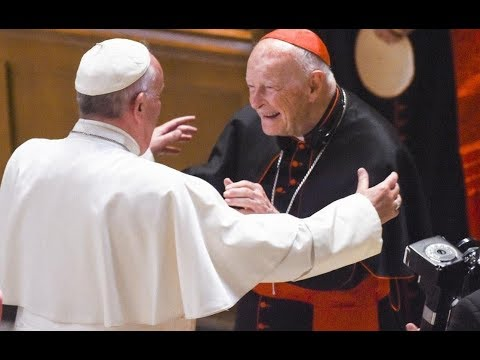 Cardinal Theodore McCarrick, former archbishop of Washington, has been removed from ministry after a