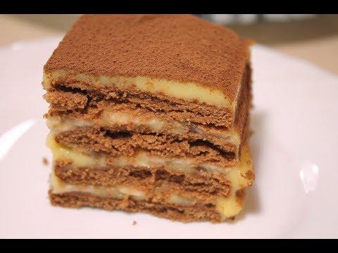 Торт Без Выпечки Вкусный и Быстрый.