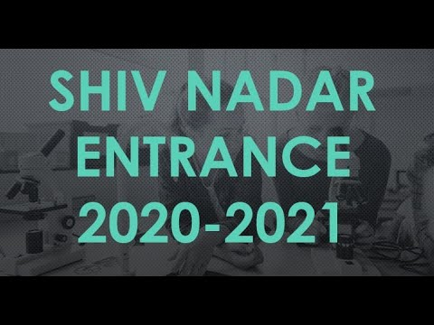 SNU  SHIV NADAR UNIVERSITY BACHELORS' EXAM ONLINE OFFLINE CLASSES HOW TO CRACK PAST YEAR SOLUTIONS