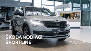 Škoda Kodiaq 4x4 2.0 TDI SportLine DSG | Porsche Inter Auto