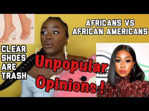 UNPOPULAR AF OPINIONS thumbnail