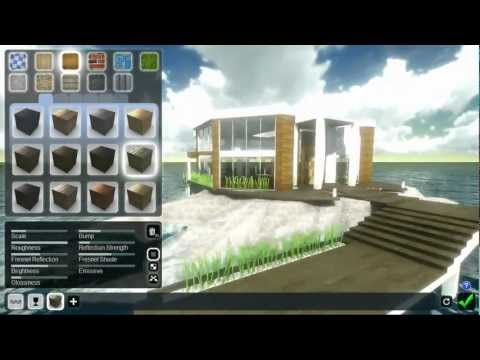 Lumion 3D. Импорт сцены из Sketchup V.8 для визуализации.