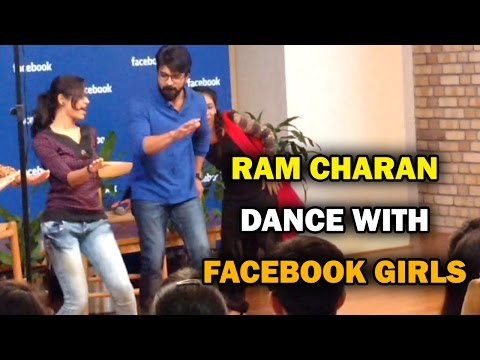 Ram Charan Dance with  Girls @Facebook Hyderabad - REDV
