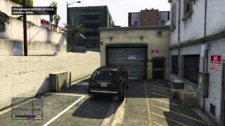 GTA 5 Gameplay - Story Mode Buying Michaels Garage