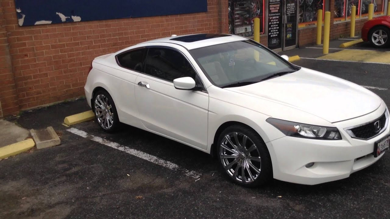 2012 Honda Accord Sitting On 20 Elure Rims Featured At