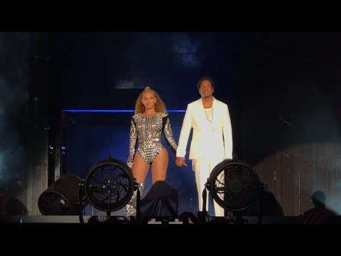 Beyoncé and Jay-Z - Holy Grail (Intro) On The Run 2 Foxborough, Massachusetts 8/5/2018