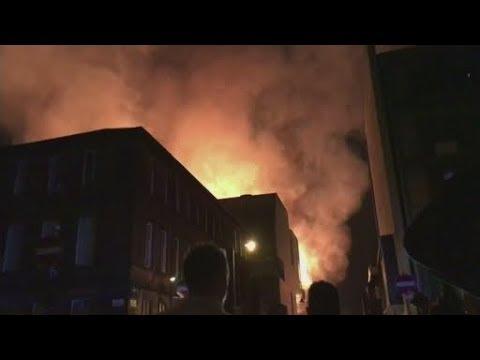 Glasgow School of Art devastated by huge fire in famed Mackintosh Building | ITV News