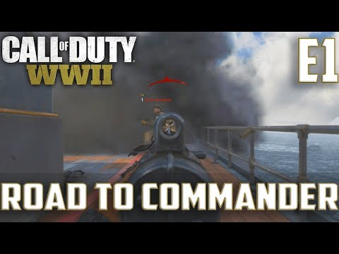 Call Of Duty World War 2(RTC)PS4 Ep.1-TDM On Ardennes Forest,USS Texas (Grease Gun Gameplay)