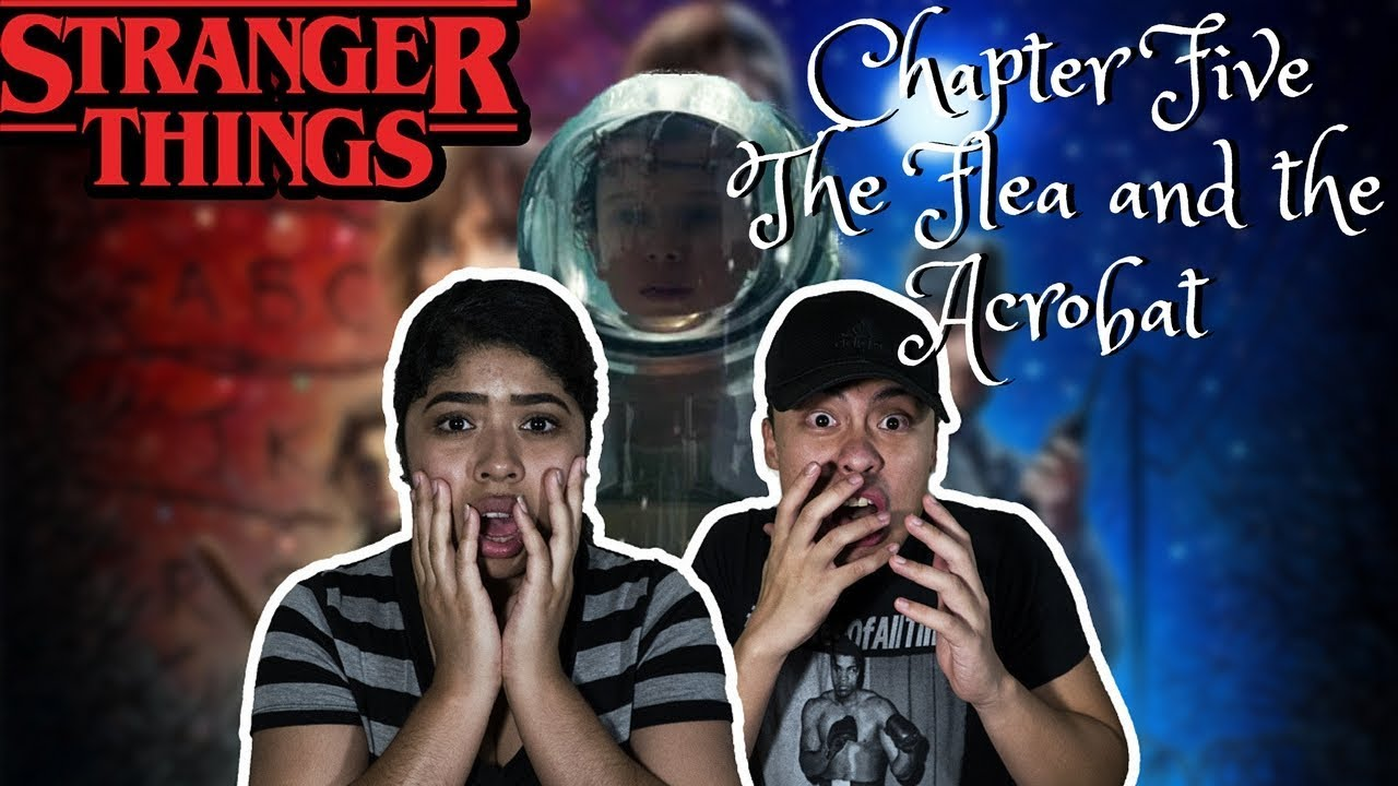 Download Stranger Things Season 1 Episode 5 REACTION! Chapter Five: The Flea and the Acrobat
