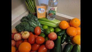 Cómo Desinfectar Frutas y Verduras Eliminando Químicos y Pesticidas! 3 Recetas Super Efectivas.