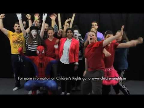 """""""Everyone has rights"""" Children's Rights short film by all Dublin Comhairle na nÓg"""