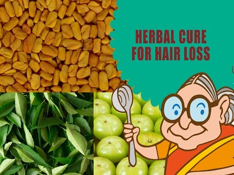 Hair Loss Treatment for Men & Women - Ayurvedic Natural Home Remedies - Hair Loss Home Remedies