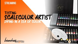 How to Paint Miniatures: Testing the new Scalecolor Artist!! Miniature Art Academy
