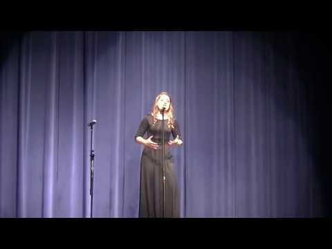 The Prayer, Dani Age 17, Bad Axe High School Choir Concert 5-24-16