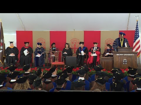 Brown University Graduate School Doctoral Ceremony