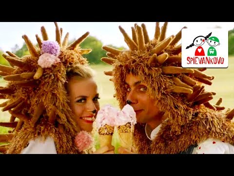Spievankovo (6) a kráľovná Harmónia - ježko zmrzlinár a ježica Evelína