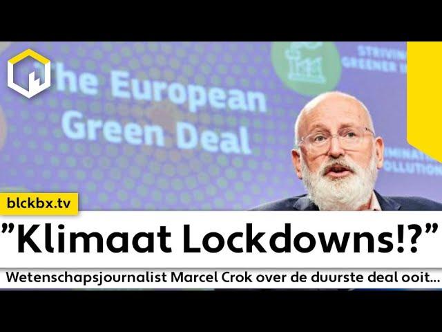 """""""Klimaat Lockdowns!?"""" Wetenschapsjournalist Marcel Crok over de duurste deal ooit!"""". (ENG subtitles)"""