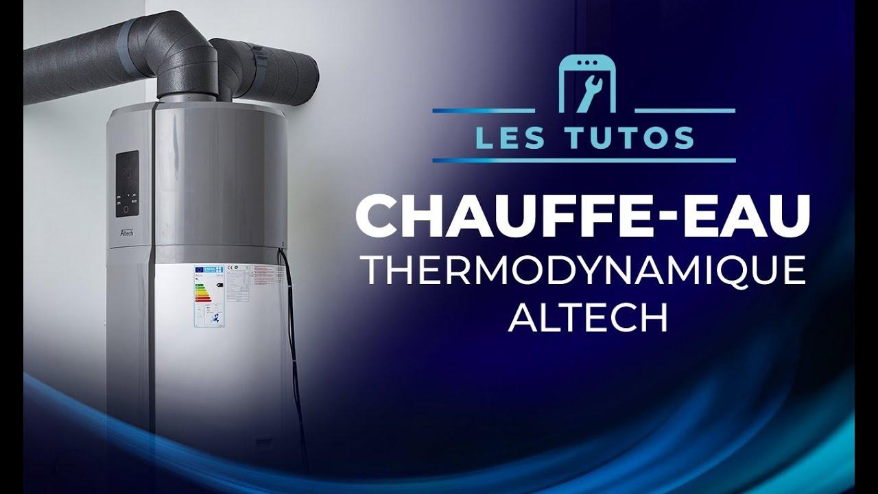 Tuto Installer Le Chauffe Eau Thermodynamique Concerto Altech Youtube