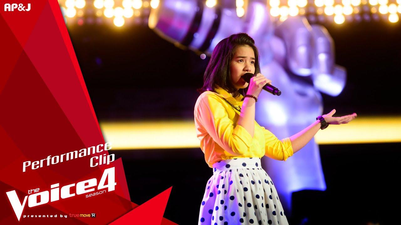 The Voice Thailand - มีนตรา อินทิรา - กระแซะเข้ามาซิ - 6 Sep 2015