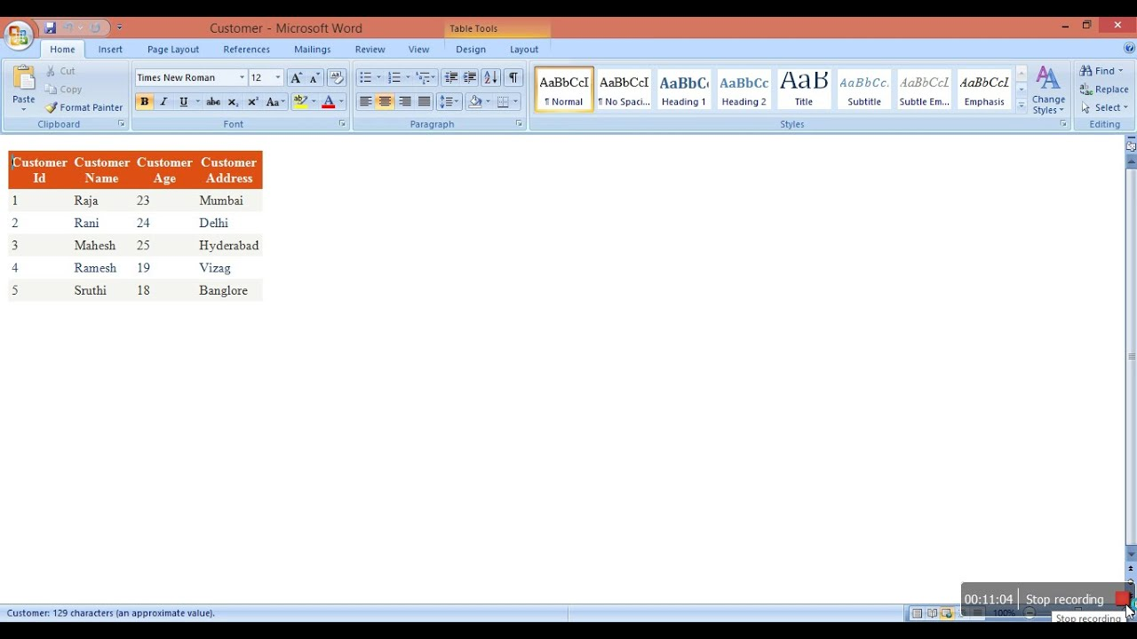 GridView Data Export To Word Document In ASPNET