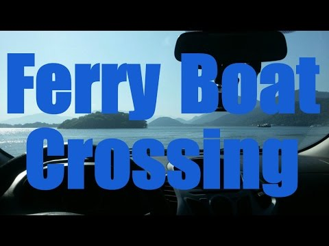 Ferry boat crossing - A ride on the Atlantic