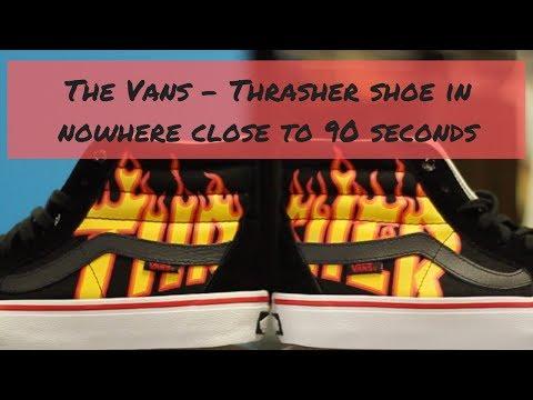 d7d6dcd1a3 Vans x Thrasher Pocket T-Shirt