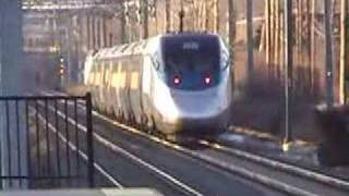 Amtrak Acela Express & MBTA Commuters @ Rte. 128 Station, MA