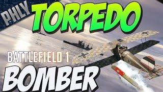 BIGGEST BF1 EXPLOSION - Torpedo Bomber Vs DreadNOUGHT (Battlefield 1 Gameplay)