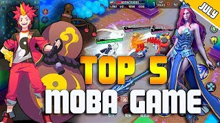 Top 5 NEW MOBA Games in July 2018 for Android/IOS