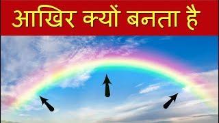 बारिश के बाद आसमान में इंद्रधनुष क्यों बनता है ? Rainbow Explained In Hindi