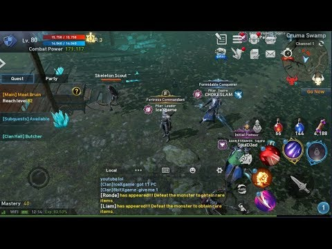 Lineage 2 Revolution Road to Top 100 Player EP#3