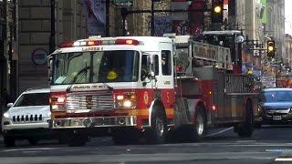 PFD Ladder 5, Medic 1 & SEPTA Transit Police Responding