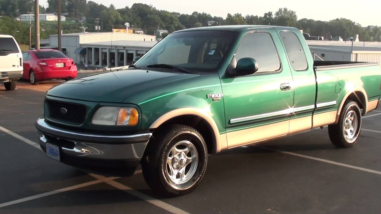 For sale 1998 ford f 150 lariat only 111k miles stk 11909a www lcford com youtube