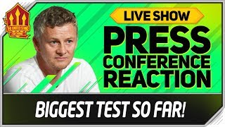 Solskjaer Press Conference Reaction! Bournemouth vs Manchester United