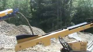 Video still for Anaconda TR5036 Tracked Conveyor