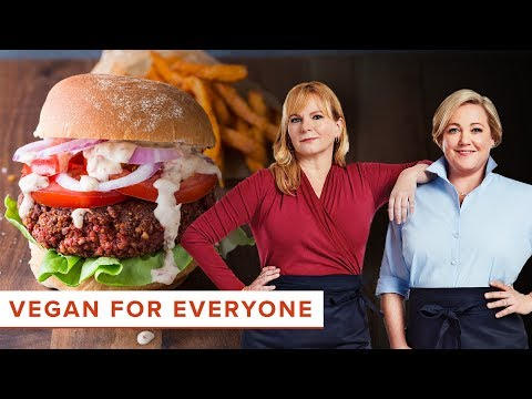 Vegan for Everyone: How to Make Vegan Pinto Bean-Beet Burger