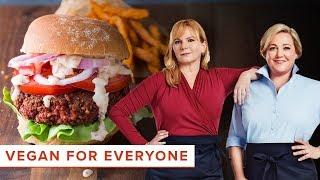 Vegan for Everyone: How to Make Vegan Pinto Bean-Beet Burgers and Buffalo Cauliflower Bites