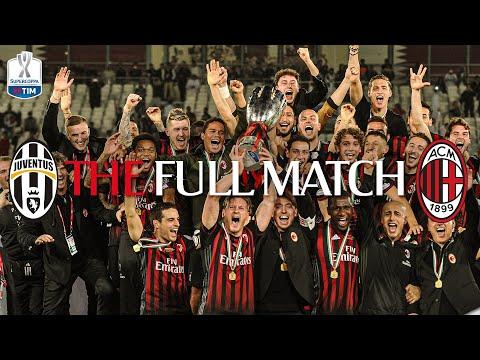 THE FULL MATCH   Juventus 1-1 (4-5 pen) AC Milan   Supercoppa Italiana 2016