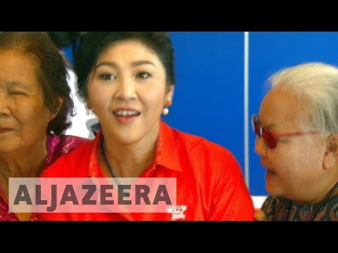 Former Thai prime minister a no-show for corruption verdict
