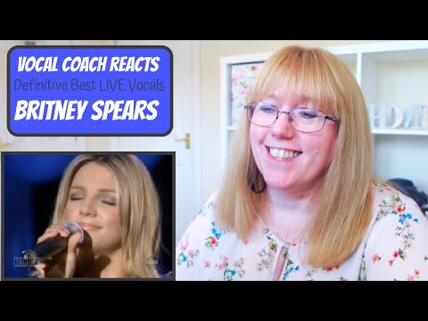 Vocal Coach Reacts to Britney Spears - The Definitive Best Live Vocals